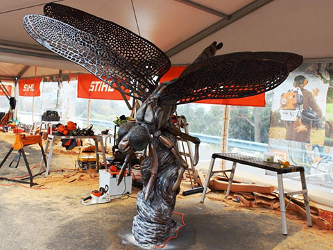 SkyhIgh-Australian-Chainsaw-Carving-Championships